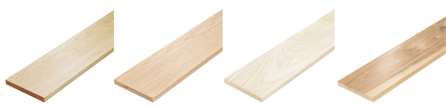 Dimensioned wood & finishing trim