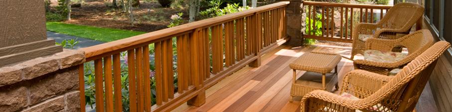 Bois de terrasse & clôture
