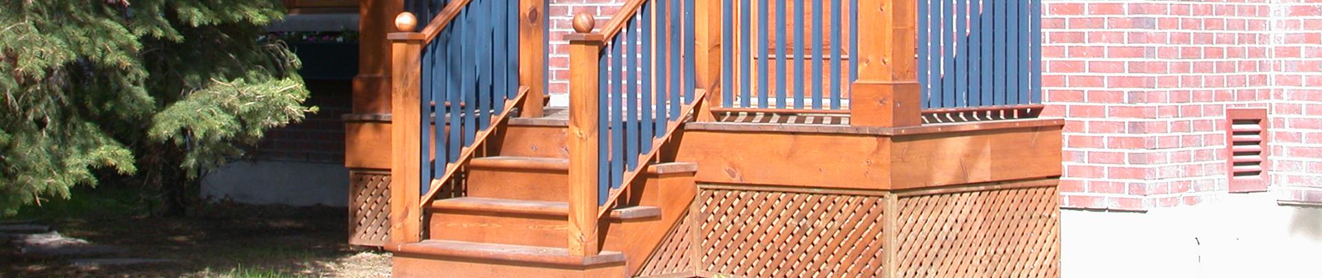 Steps & stringer boards