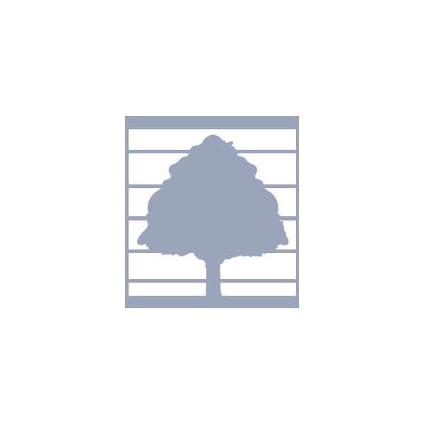 Poteau en chêne avec rainures aux coins - 3 1/2