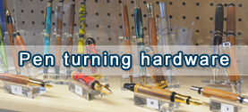 pen turning hardware