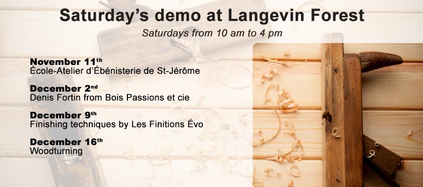 Saturday's demo