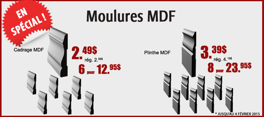 moulures mdf