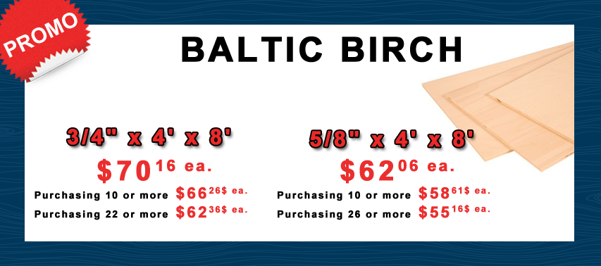Baltic birch promo