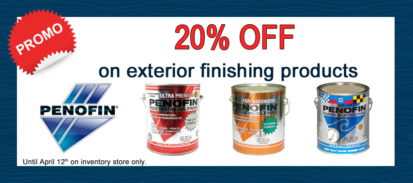 20% off on penofin products