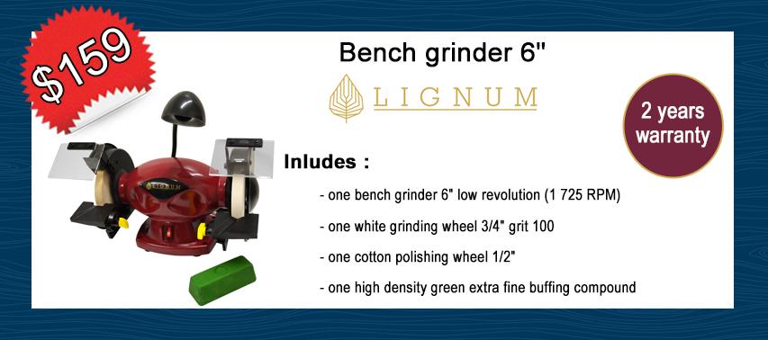 Lignum bench grinder